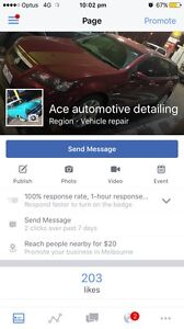 Ace automotive and marine detailing Airport West Moonee Valley Preview