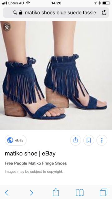 a8f7297b15 Fringe open toe sandals Matiko for Free People shoes size 38 | Women's Shoes  | Gumtree Australia Pittwater Area - Bayview | 1171867718
