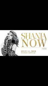 Shania in Boston - July 11, 2018