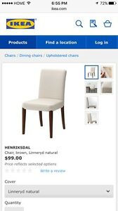 Ikea  extendable dining table and chairs