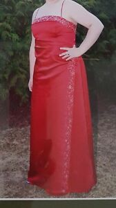 Beautiful Burgundy Prom Dress