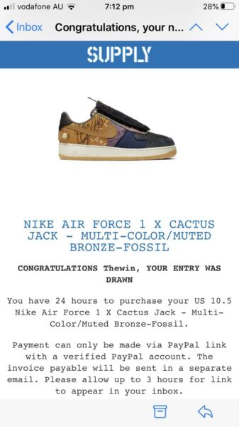 Nike x Travis Scott Cactus Jack Air Force 1 Low Multi Color Muted Bronze