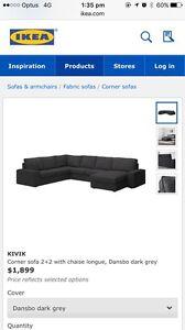 Ikea Kivik L- shape lounge Penrith Penrith Area Preview
