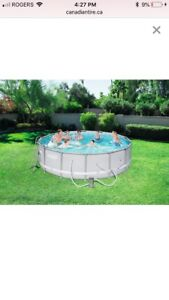 "Coleman 14ft x 42"" Above Ground Pool"