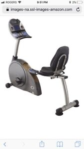 New Recumbent Bike