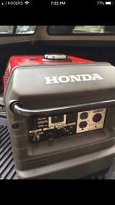 Honda generator eu3000is $1700