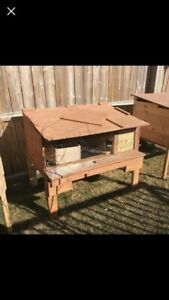 Rabbit hutches, small animal cage house