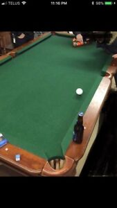 become a pool shark in your own home! pool table for sale