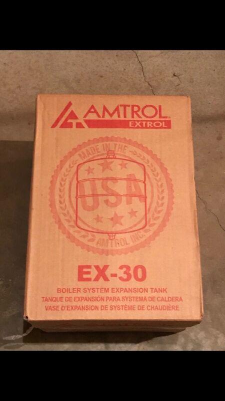 (1) NEW Amtrol Extrol EX-30 Boiler Expansion Tank, 4.4 Gallon Volume