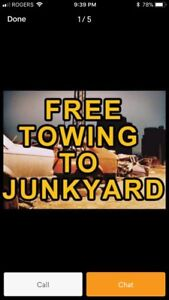 ⭐️CASH 4 ALL SCRAP USED UNWANTED CARS! FREE TOWING!⭐️