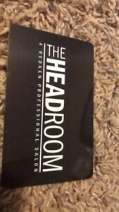 The Headroom Giftcard $50