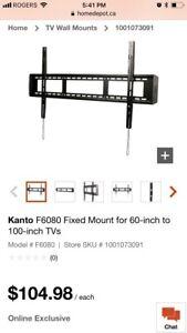 "Kanto tv wall mount 60"" to 100"""