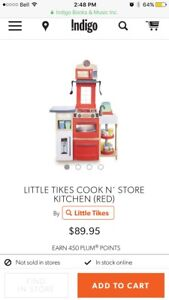 Cook n' Store Kitchen -Little Tikes