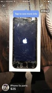 iPhone 5s for parts. Not iCloud locked