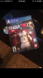 NBA 2k17 for PS4, LOOKING TO SELL ASAP. BRAND NEW.