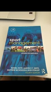 Sport management textbook 4th ed Camp Hill Brisbane South East Preview