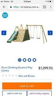 Plum Kids Climbing, swing & slide set
