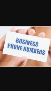 BUSINESS PHONE NUMBERS FOR MOBILE VOIP LANDLINE