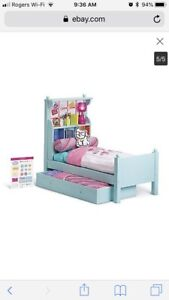 American Girl Trundle Bed + accessories