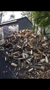 Cut split dried premium fire wood