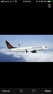 Promo Code for 15% off any Air Canada flight