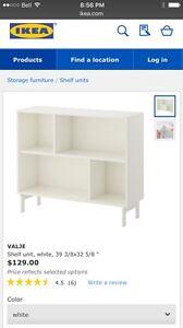 IKEA Valje Shelf Unit