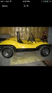 1971 VW Dune Buggy with Fibreglass Body (Kyote body style)
