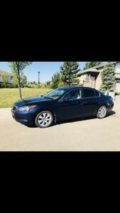 2009 Accord EX-L - 2.4 L Vtech - Fuel efficient - Low km's