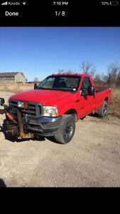 2002 Ford F-350 7.3 with plow
