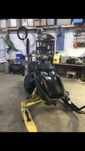Trade sled for bike