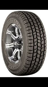 Cooper Discoverer XT/4 All  Season Truck Tires *LIKE NEW*