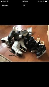 9 pairs of ice skates