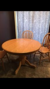Table set for sale $350