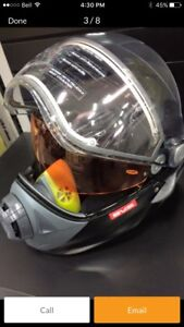 Mint BV2S BRP snowmobile helmet with electric visor