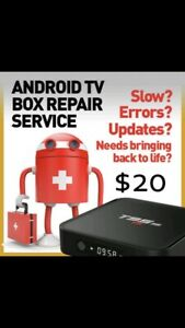 Android box not working like it use to? Update it for only $25