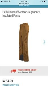 Women's Helly Hansen Ski Jacket and Pants