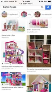 Looking for a Barbie house!