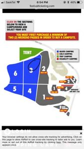 Craven silver 3 camping