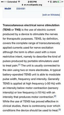 Medical Equipment Tens Unit For Pain Management