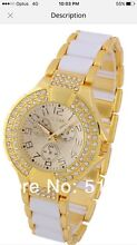 Bling NEW CHEAP Crystal Plated imi' Designer 'GUESS' Style Watch Bexley North Rockdale Area Preview