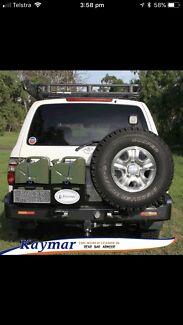 Wanted: Kaymar rear bar & long range fuel tank