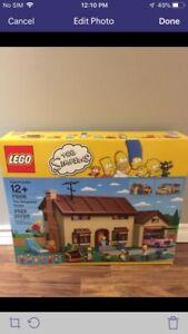 Simpson Lego house and Lego Simpson's Kwik E Mart