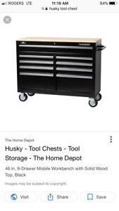 Huskey tool box