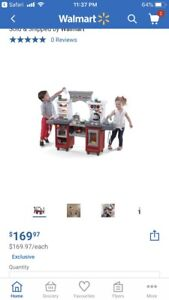 Step 2 Coffee House Kitchen & Cafe Play-Set BRAND NEW