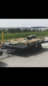 7x12 flat bed home made trailer trade for rc stuff