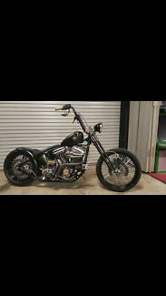 Harley bobber rigid chopper custom