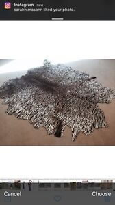 Cowhide rug Bonogin Gold Coast South Preview