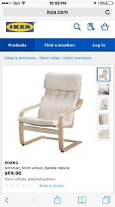 Arm chair by ikea