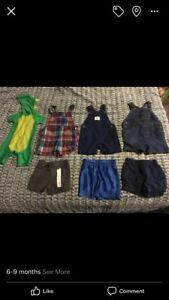 6-9month baby boy clothing