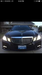 PRICE REDUCED 2010 MERCEDES E350 4MATIC AMG TRIM PACKAGE